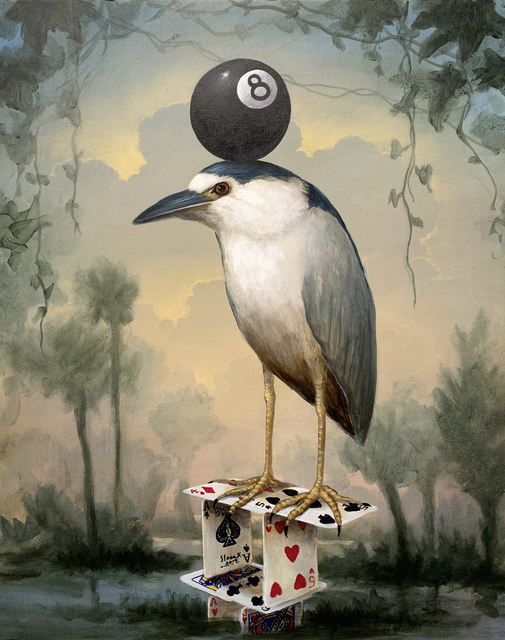 , 'Eight Ball Fascinator,' 2019, Clark Gallery