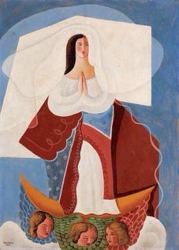 , 'NOSSA SENHORA DA CONCEIÇÃO,' ca. 40, Athena Galeria de Arte