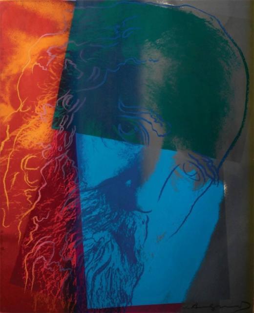 Andy Warhol, 'Martin Buber (FS II.228)', 1980, Revolver Gallery