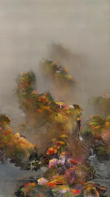 , 'Early Spring Drawing-Four seasons 2,' 2011, Leehwaik Gallery