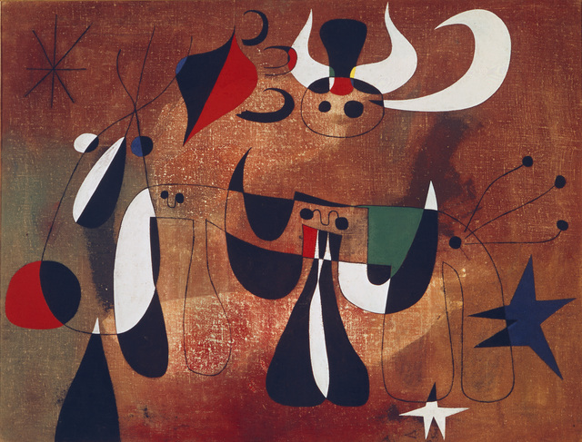 Joan Miró, 'Personages in the Night', 1950, Art Resource