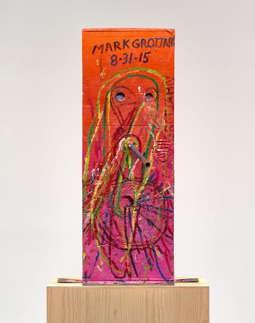 , 'Untitled (Pink Cosco III Mask M40.d),' 2015, Gagosian