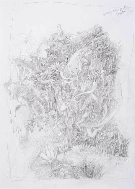 , 'Drawing from the Quiet Side No. 4,' 2015, Shine Artists | Pontone Gallery