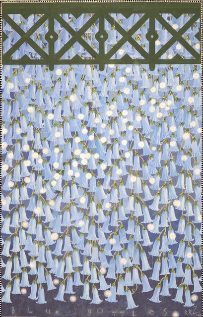 , 'Hanging Gardens Series (Blue Bottles),' 2011 -2012, Nancy Hoffman Gallery