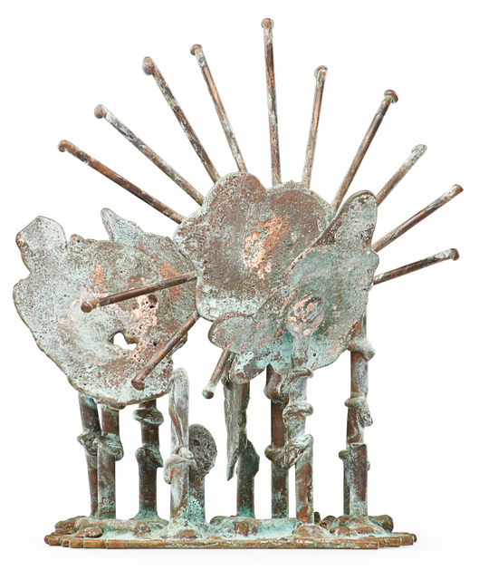 Klaus Ihlenfeld, 'Starburst, Berks County, PA', 2010s, Sculpture, Oxidized phosphor bronze, Rago/Wright