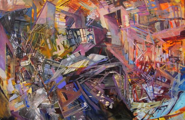 , 'Thomasville Collapse,' 2016, Venvi Art Gallery