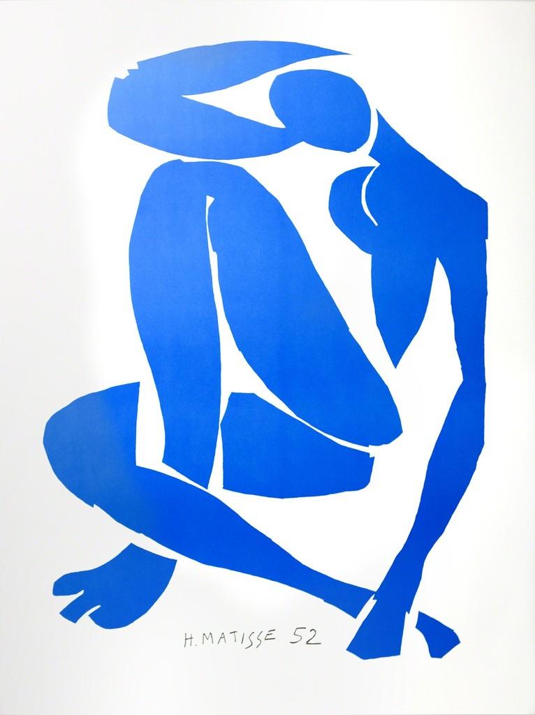 Nu Bleu IV (Blue Nude IV)