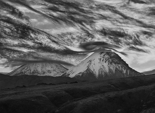 Sebastião Salgado, 'Kamen and Kluchevosky Volcanoes, Kamchatka, Russia', 2006, Huxley-Parlour