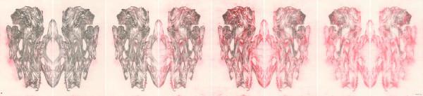 , 'Transmission XII (with Hung Hoi) 传移摹写之十二(熊海合作),' 2017, Ink Studio