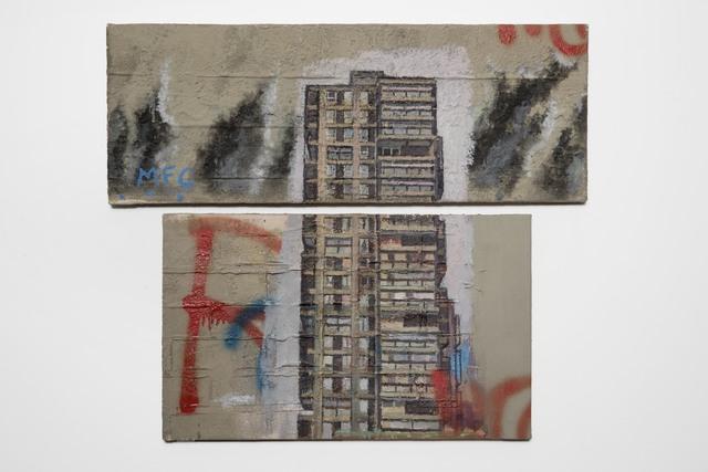 , 'Study (Diptych),' 1993, Flowers