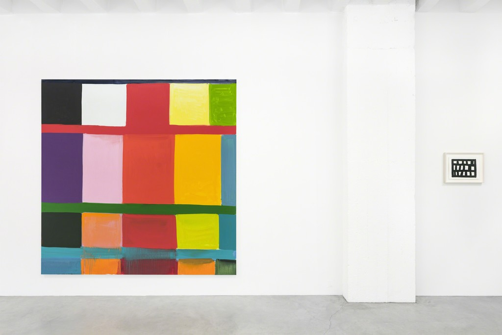 """Installation view """"Stanley Whitney - Paintings"""" at Galerie Nordenhake Berlin, 2018, Courtesy the artist and Galerie Nordenhake Berlin / Stockholm"""