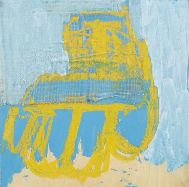 , 'Large Squares Yellow,' 2014, Matthew Rachman Gallery