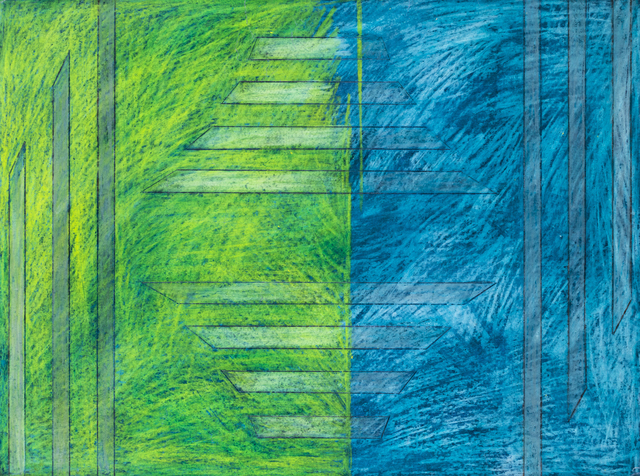Carlo Battaglia, 'Disegno 28/11/1967', 1967, Drawing, Collage or other Work on Paper, Wax crayons on paper, Martini Studio d'Arte