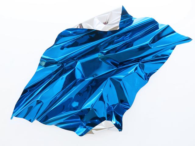 , 'Untiled, blue and Silver,' 2015, Spazio Nuovo