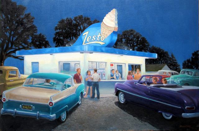 , 'Ice Cream Social,' , CODA Gallery