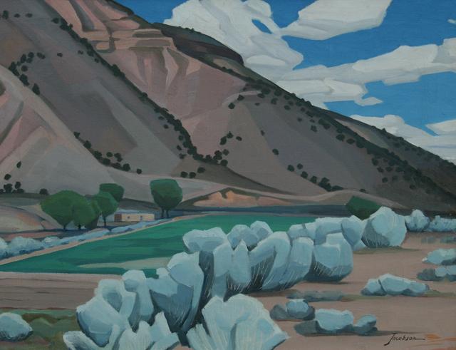 , 'Towards Questa,' 1946, JRB Art at The Elms