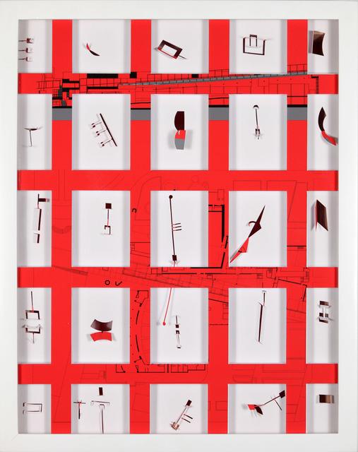 Marco Maggi, 'Turner Catalog : Complete Coverage on Eisenman (Wexner Center)', 2011, Xippas