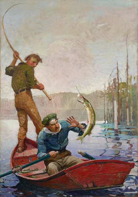 , 'Pickerel,' 1917, Debra Force Fine Art