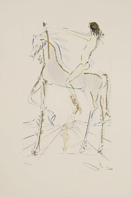 Salvador Dalí, 'Beloved Is As Fair As A Company Of Horses (Michler/Löpsinger 475)', 1971, Sworders