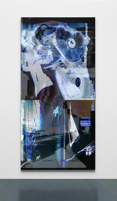 Chris Dorland, 'Untitled (skin crawler)', 2017, Painting, UV ink on Alumacore, Super Dakota
