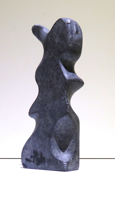 , 'Figure with bear paw,' 1976, Arctic Experience McNaught Gallery