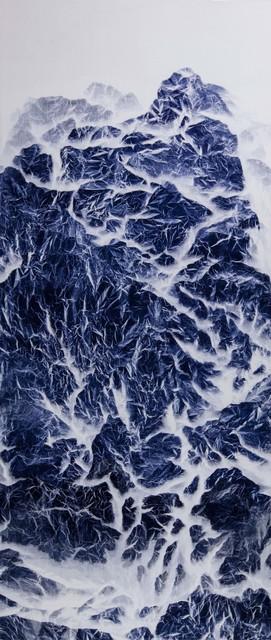 , 'Cyano-Collage 025,' 2018, Galerie du Monde
