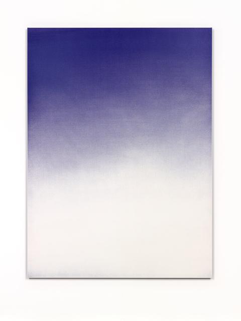, 'BLUE 100/100/0/0,' 2015, RaebervonStenglin