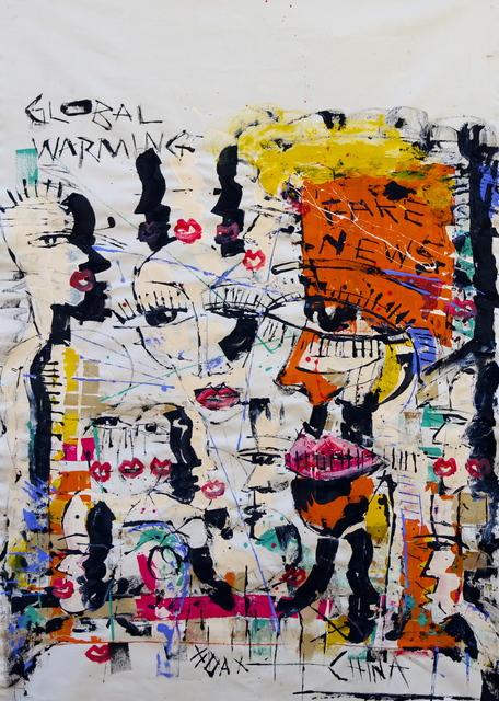 , 'Fake News,' 2017, Art Village Gallery