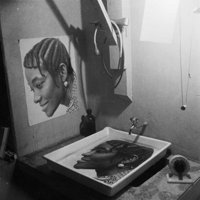 , 'Print in progress, Studio X23, Accra, c. 1972,' 2020, Galerie Clémentine de la Féronnière