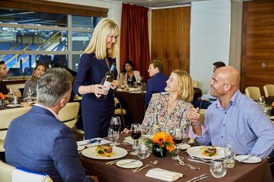 Brunch and match seats in the exclusive Director's Suite at Chelsea Football Club