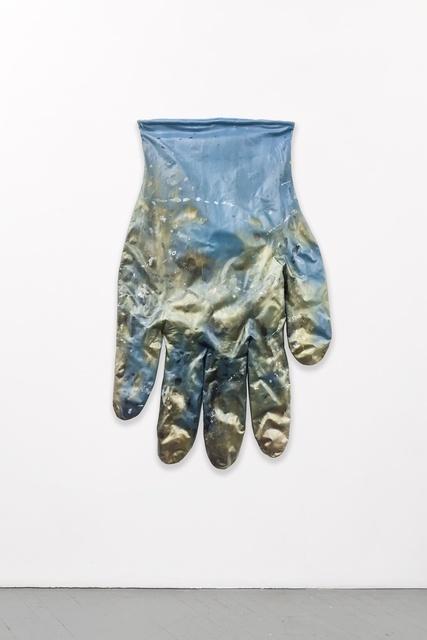 Amanda Ross-Ho, 'BLUE GLOVE LEFT #3', 2015, Shane Campbell Gallery