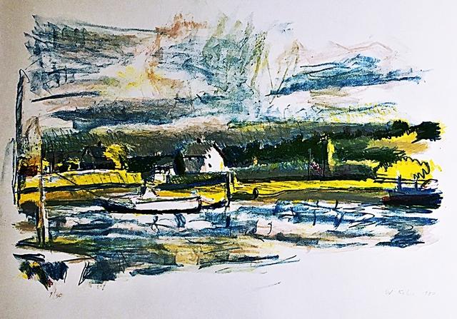 , 'Blue Barn Lake,' 1980, Alpha 137 Gallery