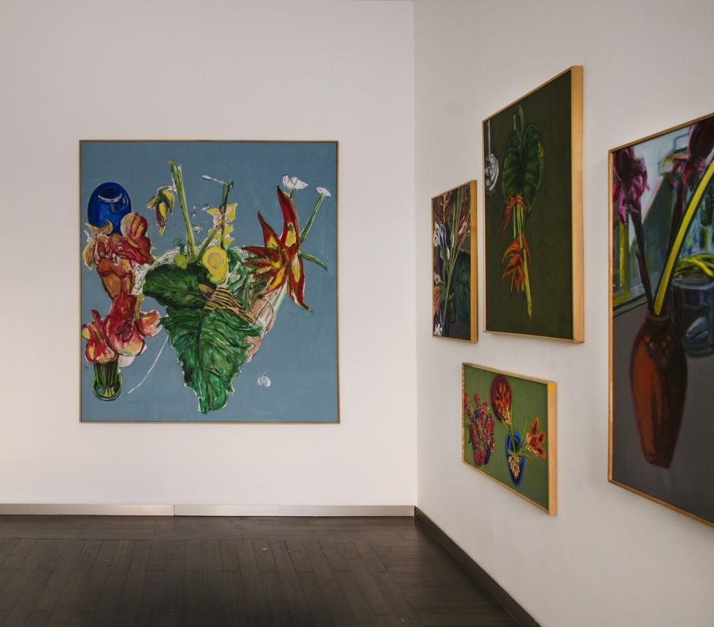 Norbert Tadeusz | Hummelglück, installation view courtesy Beck & Eggeling International Fine Art, Düsseldorf