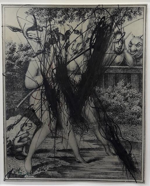 Arnulf Rainer, 'Der Teufel schläft nicht', 1970-1980, Lukas Feichtner Gallery