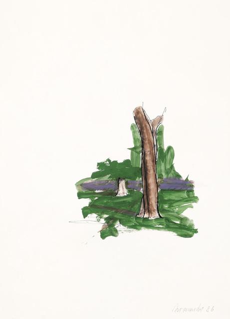 , 'Trees in the Viennese Prater,' 1986, Galerie Bei Der Albertina Zetter
