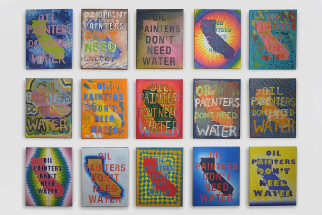 , 'California Paintings,' 2015, Subliminal Projects