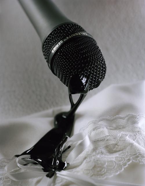 , 'Black Goo, White Lace,' 2015, Galerie Eva Presenhuber