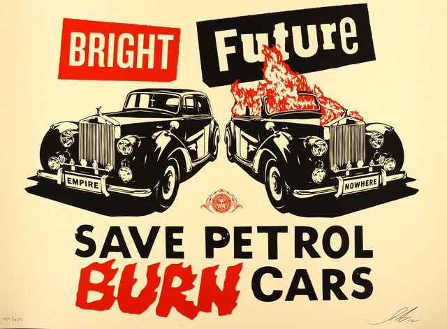 Shepard Fairey (OBEY), 'Bright Future', 2012, Chiswick Auctions
