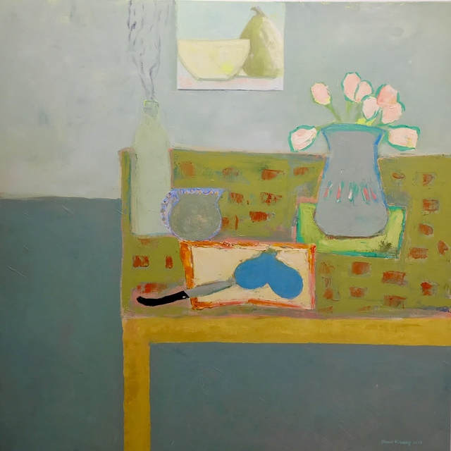 , 'Pears and Tulips,' 2010-2018, Eisenhauer Gallery