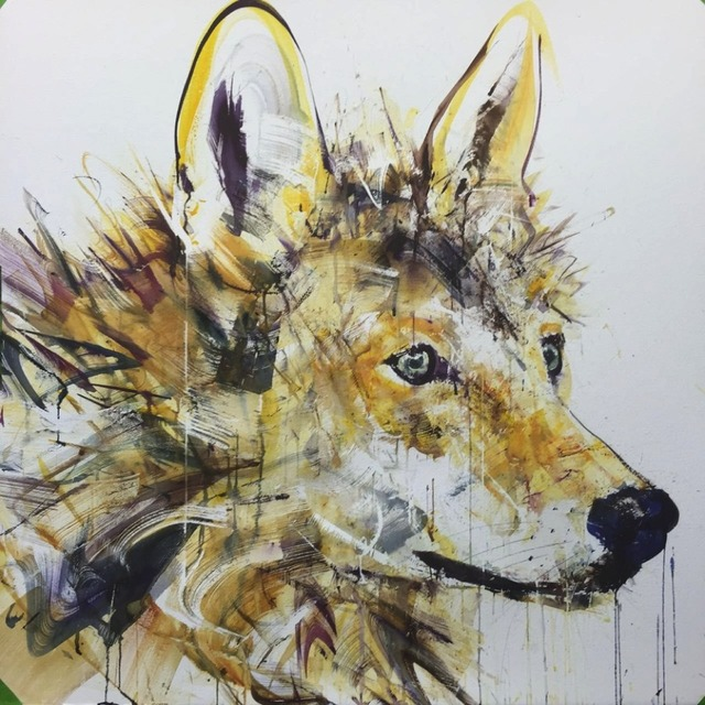 , 'Wolf IV,' , Joseph Gross Gallery