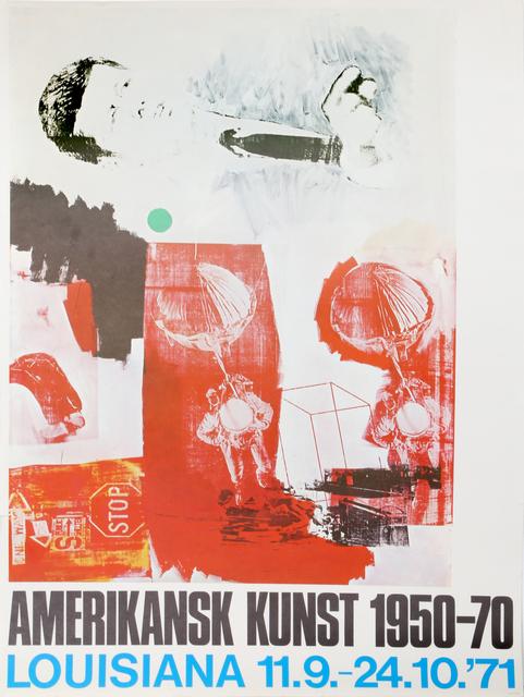 Robert Rauschenberg, 'Amerikansk Kunst Louisiana Museum Exhibition', 1971, RoGallery