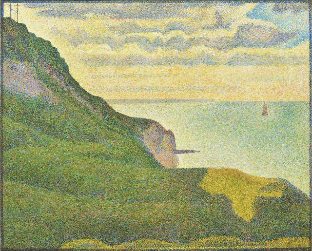 Georges Seurat, 'Seascape at Port-en-Bessin, Normandy', 1888, National Gallery of Art, Washington, D.C.