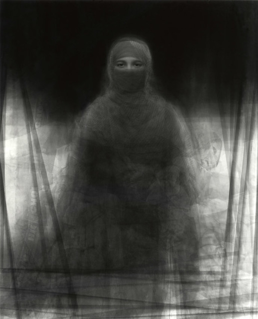 , '23 Muslim women wearing the burka, July 27, 2008, Nira Village, Bagachara City, Bangladesh,' 2008, Pace/MacGill Gallery