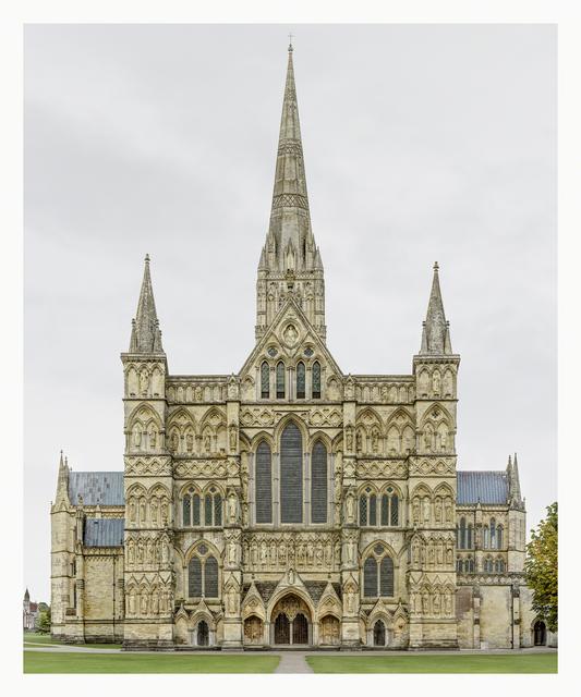 , 'Salisbury Cathedral,' 2014-2015, Yossi Milo Gallery