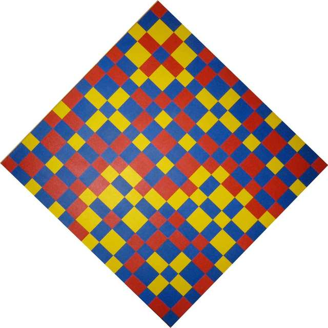 Guido Molinari, 'Yellow, Red, Blue Continuum (G.M.-T-1998-13)', 1998, Galerie de Bellefeuille