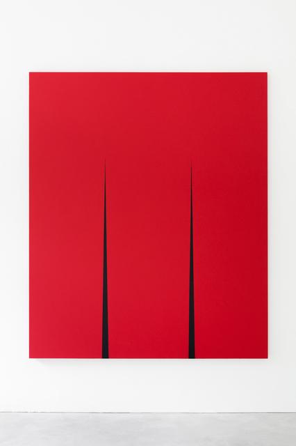 , 'Ängarnas avlägsna grönska / The Green of the Distant Meadows I,' 2018, Galerie Nordenhake