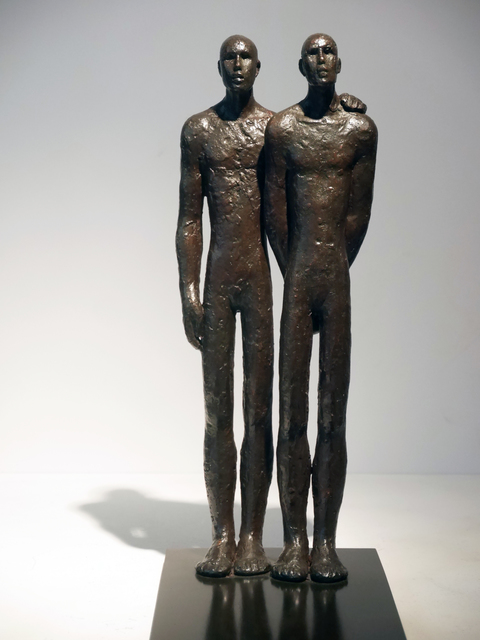 , 'Les amis,' 2016, Galerie Geraldine Banier
