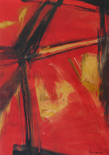 , 'Abstract,' ca. 1955, Caldwell Gallery Hudson