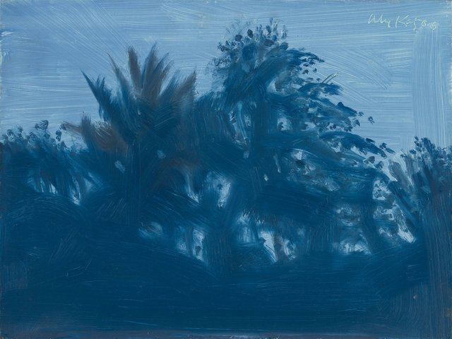 Alex Katz, 'Late Afternoon Blue', 2006, Frank Fluegel Gallery