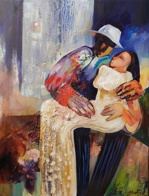 , 'Man in a White Hat,' , Zenith Gallery